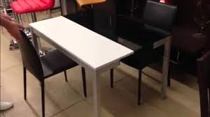 Orlando Modern Furniture by Creative Furniture Orlando Modern Dining Table Youtube