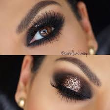 black and bronze smokey eye image 4093889 by lucialin on favim