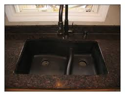 black kitchen sink faucets black granite sink and faucet and photos madlonsbigbear