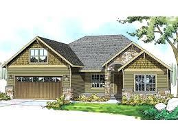 one craftsman home plans plans single craftsman house plans