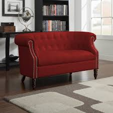 Red Loveseat Sofas Loveseats Archives Best Furniture Your Choices