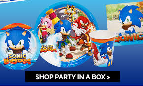 sonic party supplies birthday express just in sonic boom party supplies are here milled