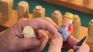step by step how to carve a little person steps 1 4 youtube