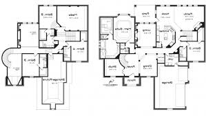 five bedroom home plans 2 story 5 bedroom house plans amazing house plans