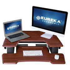 eureka ergonomic height adjustable standing desk eureka ergonomic height adjustable desk sleek powerful and