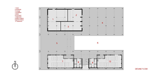 Workshop Floor Plans Pani Community Centre Schilderscholte Architects Archdaily