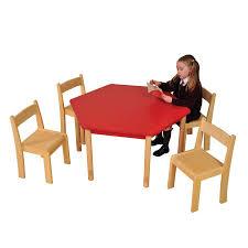 buy height adjust hexagonal wooden classroom tables tts