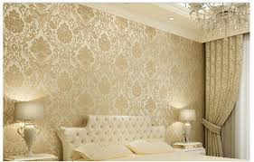 wallpaper dinding kamar vintage vintage classic beige french modern damask feature wallpaper wall