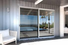 double sliding glass doors arcadia style pocket sliding door