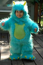Blue Monster Halloween Costume Juicy Bits 41 Costume