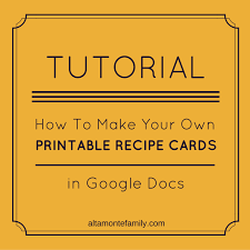 how to make free printables in google docs altamonte family