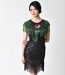 shop 1920s plus size dresses and costumes with regard to emerald