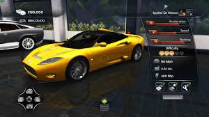 Spyker C8 Aileron Interior Test Drive Unlimited 2 Unofficial Patch Vehicles Spyker C8