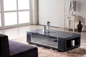 Wooden Center Table Glass Top Furniture Sturdy Coffee Table Decoration With Granite Table Top