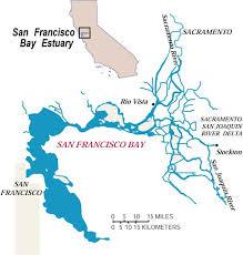 san francisco delta map ecology contaminants san francisco bay delta map