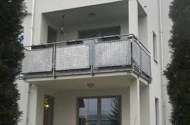 balkon lochblech h b technik balkone