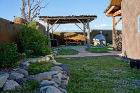 Pergola Off House by Gallery Off Grid Straw Bale Homestead In Colorado Small House Bliss