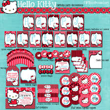 Hello Kitty Halloween Games by Hello Kitty Party Printable Collection Mimi U0027s Dollhouse