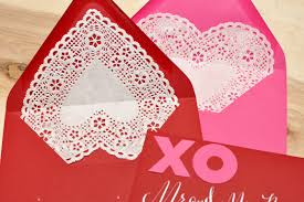 heart shaped doilies heart shaped doilies as envelope liners smitten on paper