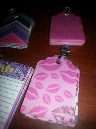 diy cute key chain tear off notepad