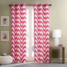 intelligent design libra chevron window curtain pair ebay