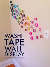 Washi Tape Wall by Artistic Wall Instillations 12 Months Of Making Month 5 U2022 Your