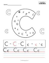 letter c practice teaching squared