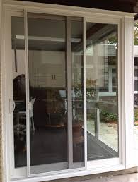 Custom Sliding Patio Doors Doors Glamorous Sliding Glass Screen Door Sliding Screen Door