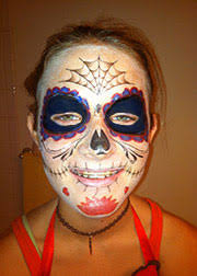 day of the dead better than up tempoary tattoos