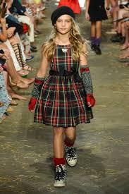 ralph lauren kids fashion show stroller in the city