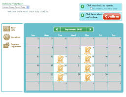 Volunteer Schedule Template Excel Snack Sign Up Sheet Free Template Signup By Signup Com