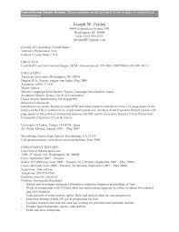 resume exles for government resume for govt therpgmovie