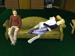 college couch makeout sims 2 youtube
