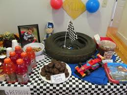 Party Table Decorations by Race Car Party Table Decorations Creativeplayhouse