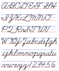 how write cursive handwriting exles of handwriting styles cursive cursive handwriting and