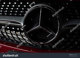 logo mercedes benz 3d bangkok thailand august 30 2017 closeup stock photo 721905100