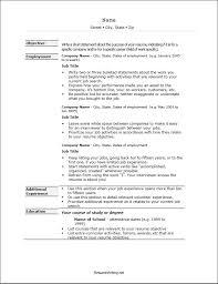 proper format of resume resume template resume formating free career resume template