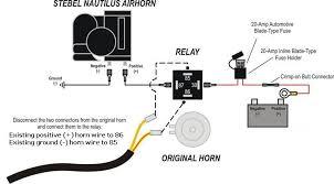 horn relay wiring diagram diagram wiring diagrams for diy car