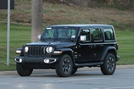 jeep truck spy photos spy shots entire 2018 jeep wrangler lineup uncovered