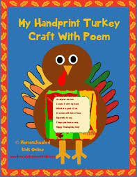 handprint turkey craft for kids homeschooled kids online