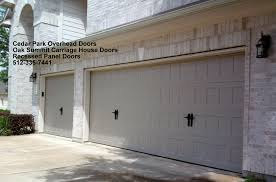 House Doors Carriage Style Garage Doors Cedar Park Overhead Doors