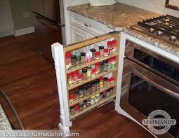 spice rack pilaster on both sides of the stove talk about making