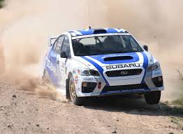 subaru rally wrx subaru brings new car and driver scores second at rallye défi