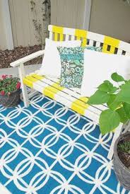 Painting An Outdoor Rug How To Paint A Rug Seven Tips To Painting A Rug