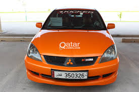 mitsubishi ralliart for sale urgent mitsubishi lancer ralliart 2006 qatar living
