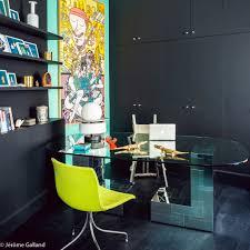 deco bureau entreprise le coup de bluff d u0027un appartement haussmannien elle décoration