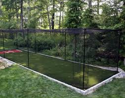 nylon batting cage in amateur and professional training