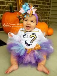 Beauty Beast Halloween Costumes Beauty Beast Chip Tutu Costume Bowdezzledesigns Etsy