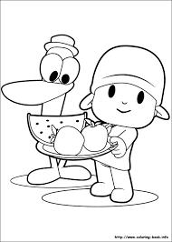 brilliant ideas pocoyo coloring pages print free