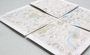 paper maps zoomable paper map of